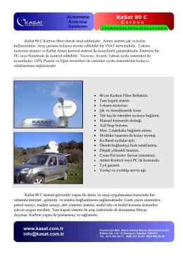 90cm Karbon fiber teknik özellikler pdf