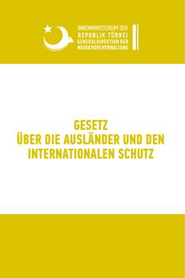 gesetz über die ausländer und den internationalen schutz