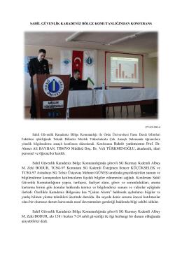 Rektör yardımcımız Prof. Dr. Ahmet Ali BAYHAN, TBMYO Müdürü