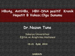 Olgu Sunumu Dr.Nazan Tuna