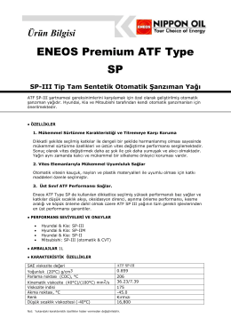 ENEOS Premium ATF Type SP