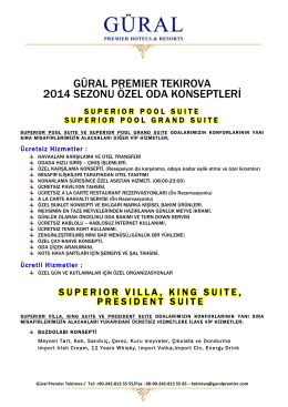 GP_Tekirova Sp.Rooms 2014_Turkish - Gural Premier