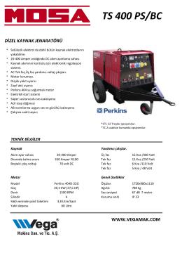Mosa TS 400 PS/BC