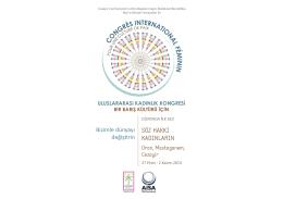 söz hakkı kadınların - Congres International Féminin