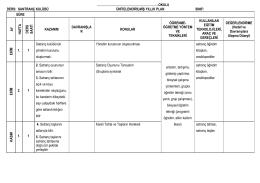 okulu ders: santranç kulübü ünitelendirilmiş yıllık p