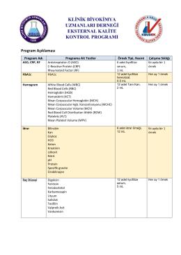 2015 Program Açıklaması