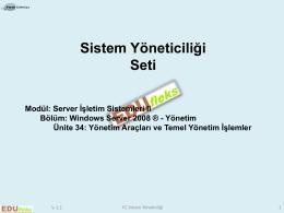 Sistem Yöneticiliği Seti