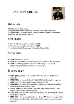 Dr.İLHAMİ ATILGAN