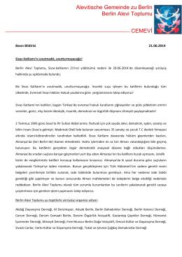 Basın Bildirisi