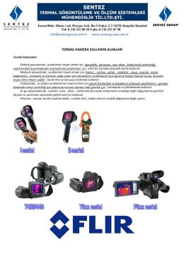 termal kamera kullanım alanları