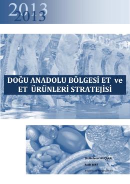TRA1 Bölgesi Et ve Et Ürünleri Sektörü Raporu