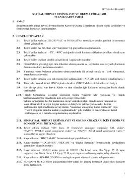 Teknik Sartname 2014-132445