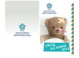 COCUK ILAC REHB ERI - Meram Tıp Fakültesi
