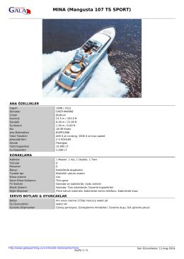 MINA (Mangusta 107 TS SPORT)