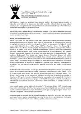 Trans X Istanbul - www. transxistanbul.com