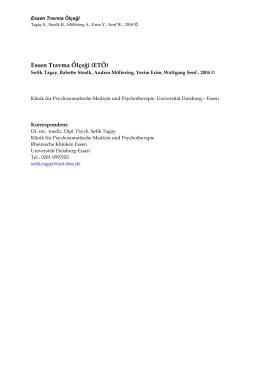 ETI- Türkisch Beschreibung - an der Universität Duisburg