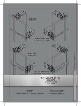 F50 Kondens Silikon Cephe Sistemi