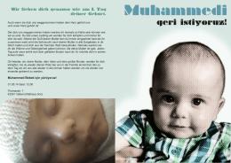 Muhammed Bebek için yürüyoruz!