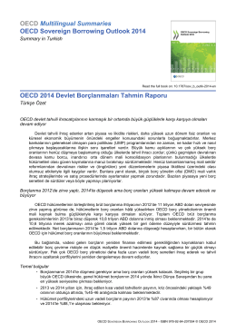 OECD Multilingual Summaries OECD Sovereign