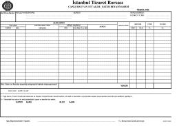 İstanbul Ticaret Borsası
