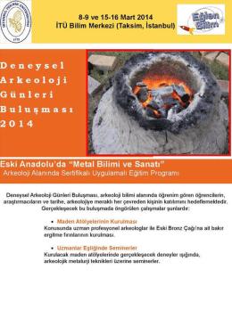 8-9 ve 15-16 Mart 2014 İTÜ Bilim Merkezi (Taksim