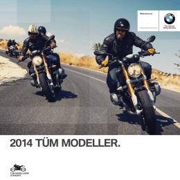 BMW Motorrad Tüm modeller 2014 (PDF 11.5 MB)