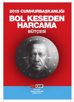 bol keseden harcama - CHP İstanbul Milletvekili Umut Oran