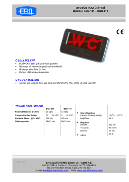 bsu-101 - ERA Electronic A.S.