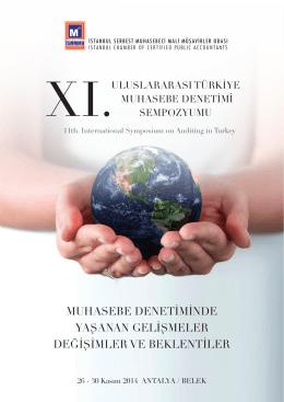 XI. Uluslararası Türkiye Muhasebe Denetimi Sempozyumu