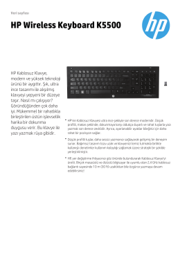 PSG Accessories 2013 Datasheet New Font - HP - Hewlett