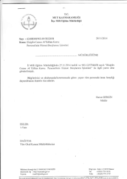 """""""*Aao - mut ilçe millî eğitim müdürlüğü"""