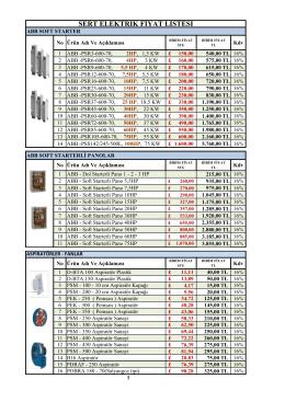 aspiratörler - Sert Elektrik