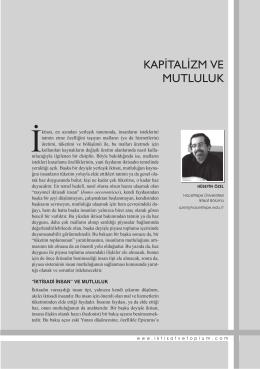 buraya - İktisat ve Toplum Dergisi