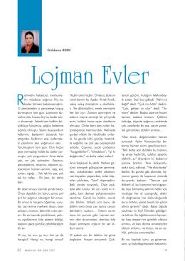 Lojman Evler Güldane BERK