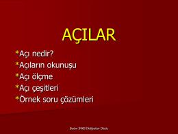 AÇILAR