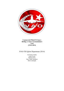 Commercial Pilot(CP)