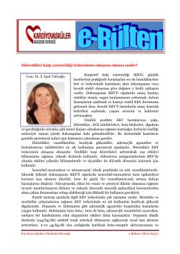 Uzm. Dr. İpek Türkoğlu - Kardiyovasküler Akademi Derneği