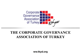 Corporate Governance Awards
