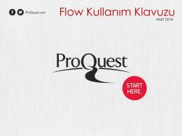 Flow Kullanım Klavuzu