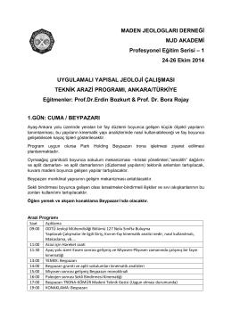 MJD Akademi - Maden Jeologları Derneği