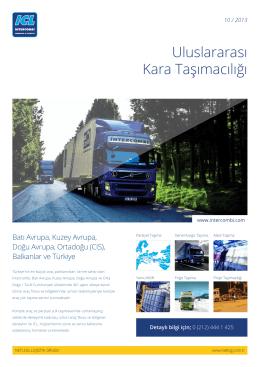 ICL - Avrupa Parsiyel Taşımacılık