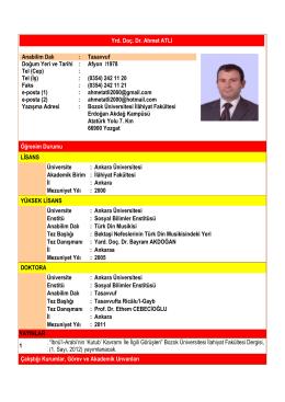 TR - Bozok Üniversitesi | İlahiyat Fakültesi