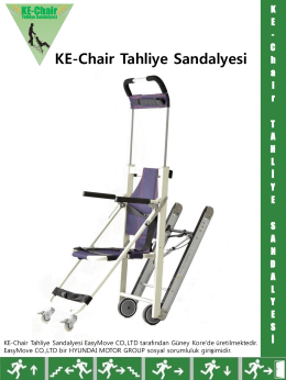 KE-Chair Tahliye Sandalyesi