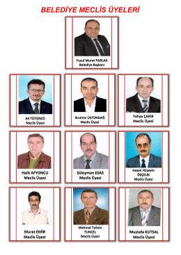 BELEDİYE MECLİS ÜYELERİ