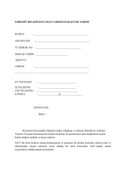 başvuru formu için tıklayınız