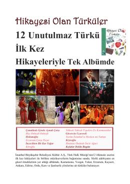 Hikâyesi Olan Türküler
