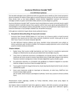 """Avusturya Müslüman Gençliği """"MJÖ"""""""