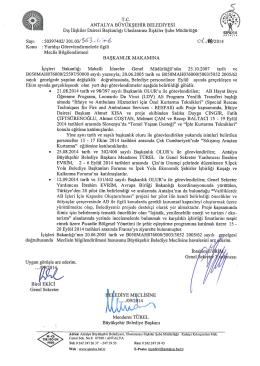 Gündemin 5.Maddesi - Antalya Belediyesi