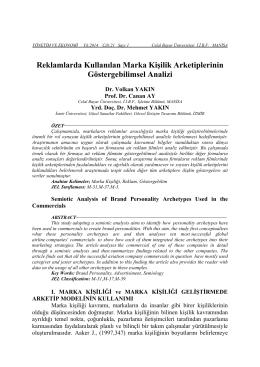 Volkan YAKIN - Celal Bayar Üniversitesi