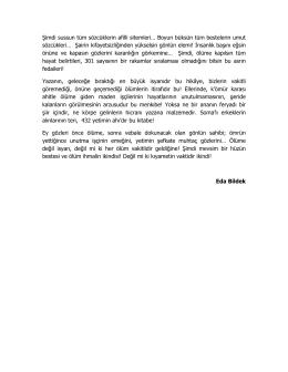 İlk Sayfaları OKU